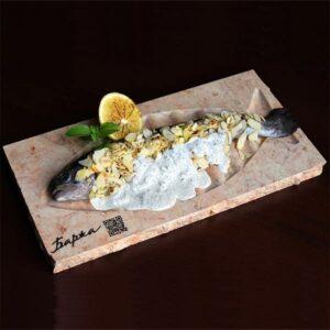Тарілка з мармуру Markam для риби