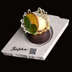 Тарілка з мармуру Markam під десерт