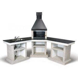 Барбекю комплекс Stimlex Anora L + стіл + мийка