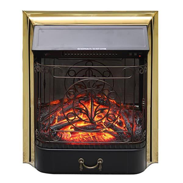 електрокамін Royal-Flame-Majestic-FX-M-Brass